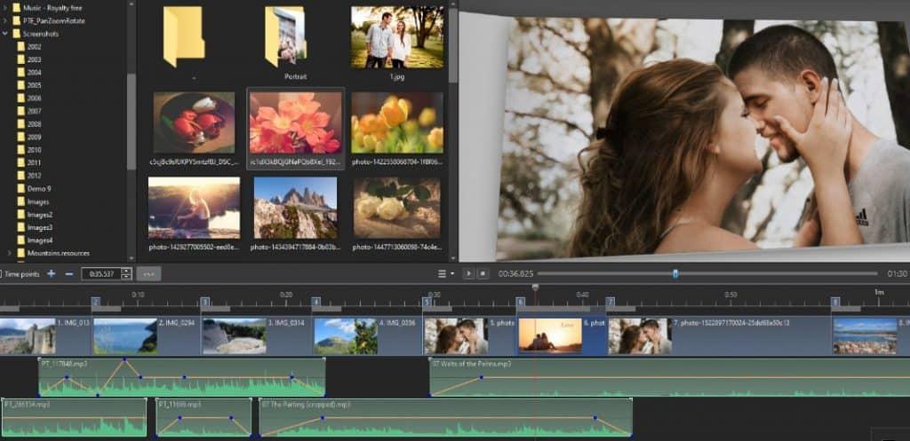 برنامج محول الصور إلى ألبوم فيديو