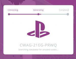 Playstation gift card-landing-page