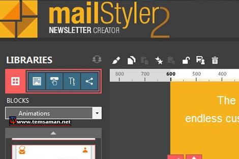 برنامج mailstyler2 مع التفعيل