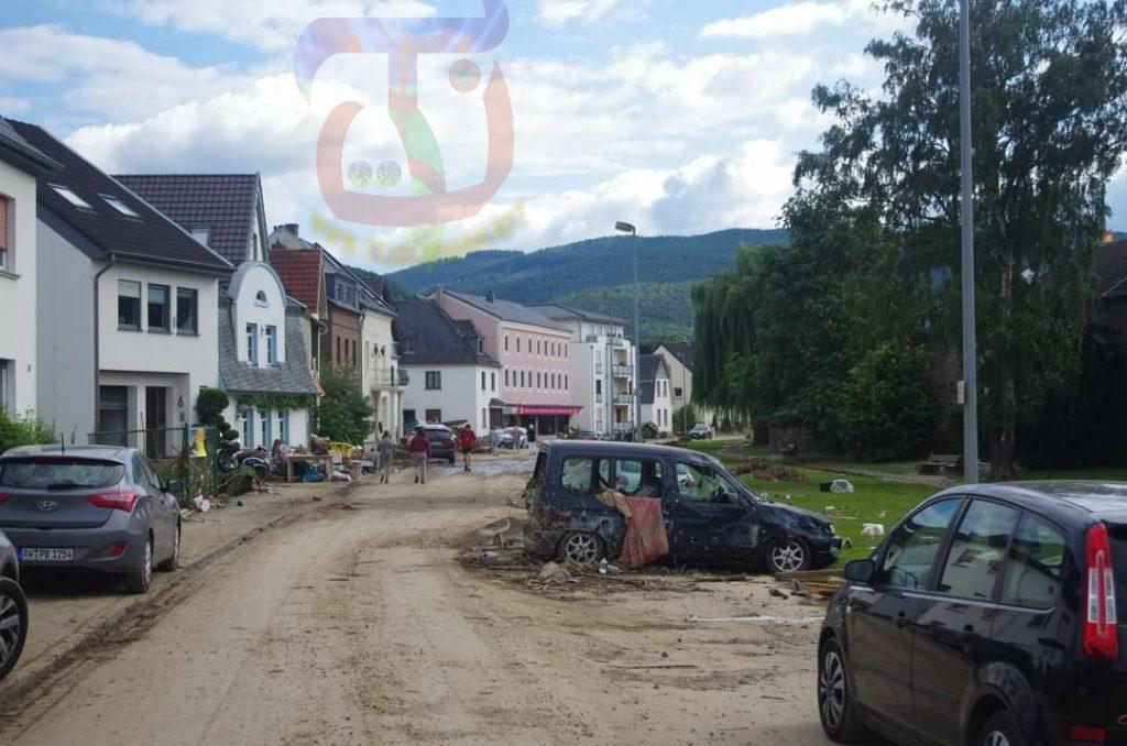 فيضانات ألمانيا الكارثية بالصور